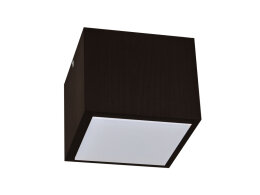 Plafon LED, lampa sufitowa LED IP44 PLALED1212-WENGE 7W 630lm